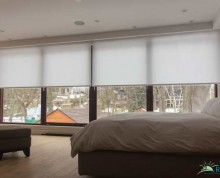 motorized blinds bedroom