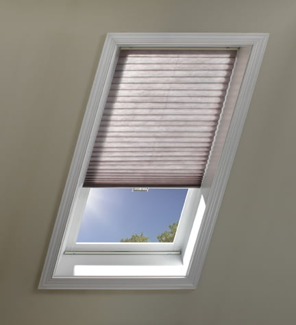 flat and honeycomb skylight shades motorized and manual